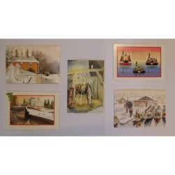 Model Holiday Narrowboat -...