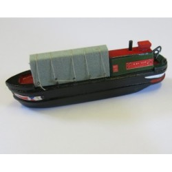 Model of working narrowboat